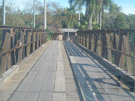 Sao Jose do Hortencio, RS: Ponte de Ferro Eng. Daniel Ribeiro