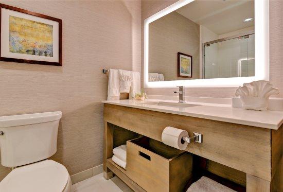 Nampa, Αϊντάχο: Holiday Inn Bathroom near NNU