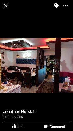 West Yorkshire, UK: Downstairs Restaurant