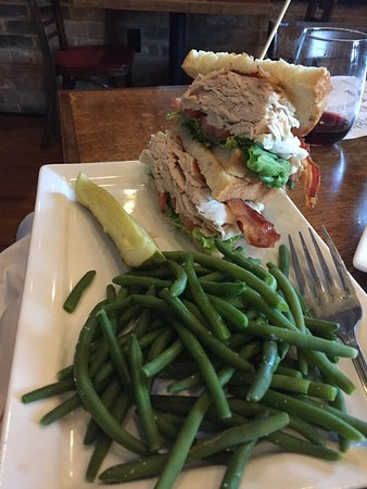 McKinney, TX: Turkey club sandwich