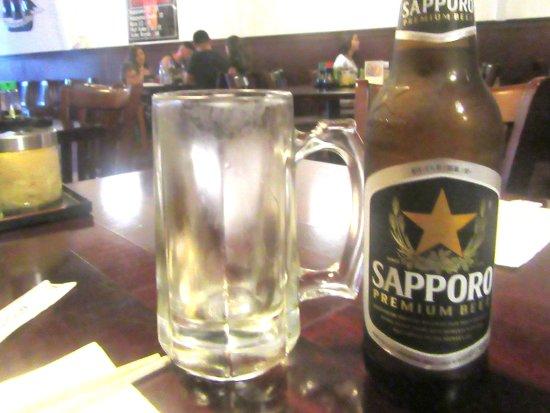 Sappor Beer, Uotomo Sushi, Milpitas, CA