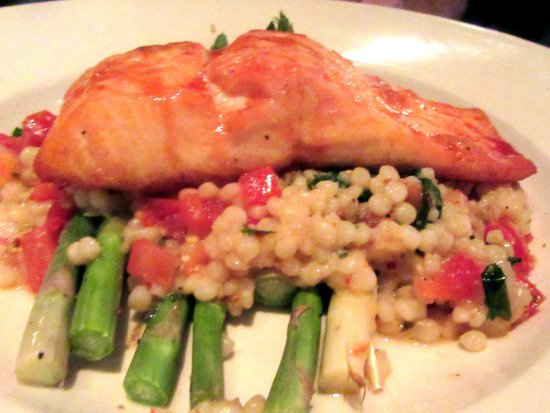 Salmon, , BJ's Restaurant & Brewhouse, Newark, Ca
