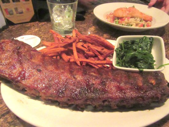 Thursday Night Special - Ribs, Two Sides, , BJ's Restaurant & Brewhouse, Newark, Ca
