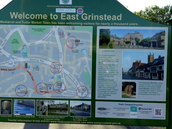 old buildings in East Grinstead  Picture of London Victoria