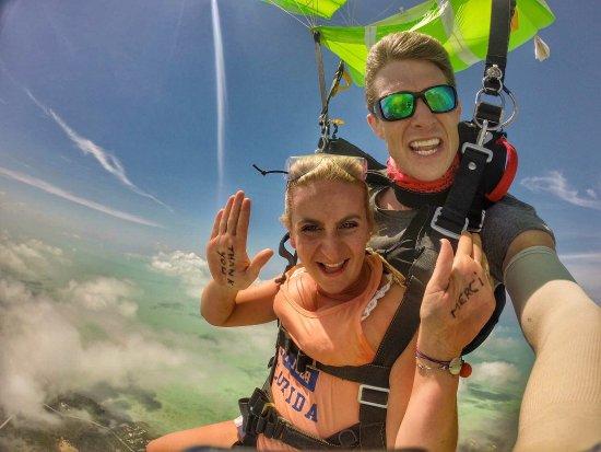 Sugarloaf, FL: I screamed a lot hope my instructor isn't deaf because of me. Best time ever! Memorable !!