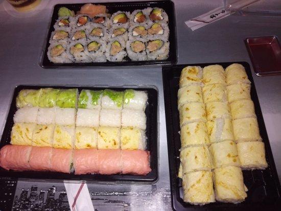 Plan De Cuques, Prancis: certains de ces sushis sont chauds ! (essayer de répeter cette phrase 10 fois !)