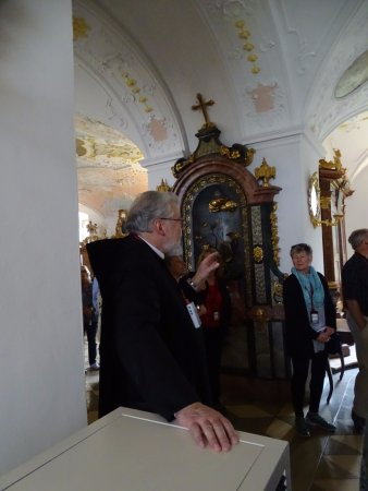 Benediktinerabtei Ettal : Our visit to cool Abbey