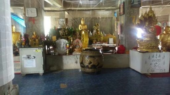 "Chalong, Thailand: ""Inside the temple"""