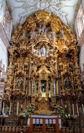 Templo La Valenciana: Altar