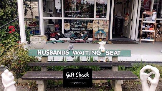 Te Horo, Nueva Zelanda: Husbands Waiting Seat