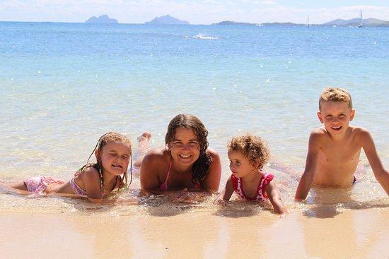 Castaway Island (Qalito), Fiji: That water...