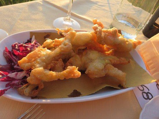 Love eating here overlooking Monterchi