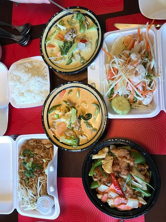 St. Albert, Canada: Thai Takeout.