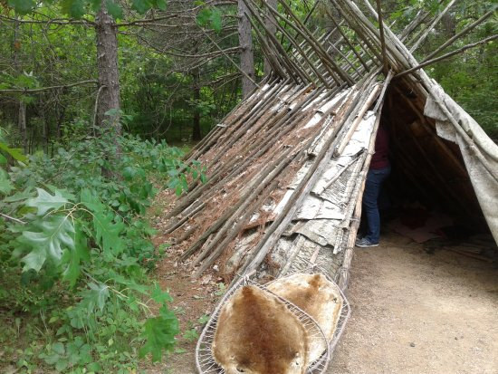 Pine City, MN: Ojibwa hut