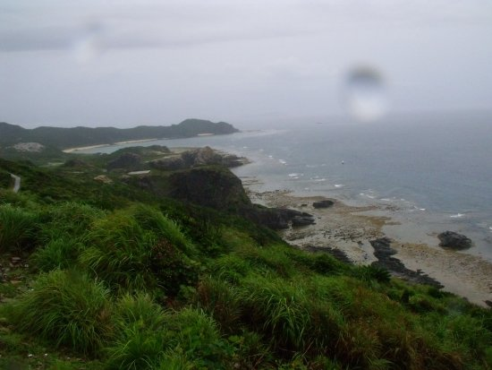 Tokashiki-son, Japan: Harsh weather wanted to stop us. Didn't succeed.