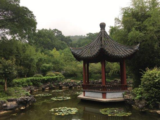 Chuzhou, China: pavilion