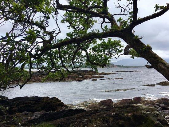 Sneem, Ireland: Along the footpaths