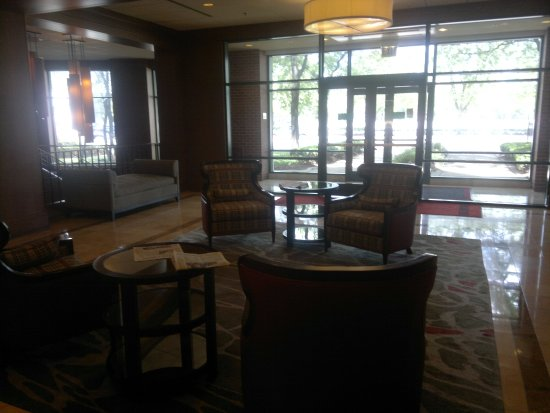 Chicago Marriott At Medical District UIC Lobby Area