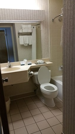 Quality Inn Midway Airport: QI Midway Bathroom