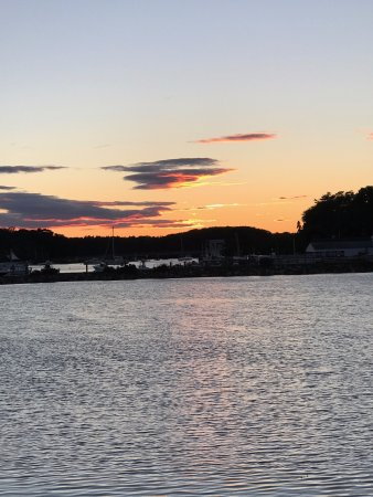 York Harbor, ME: sunset