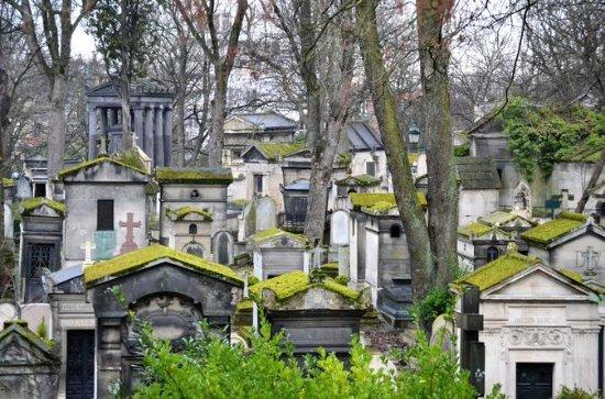 パリのペール・ラシェーズ墓地ウォーキングツアー