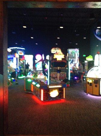 The Wild Game Entertainment Experience Arcade Area Near Entrance