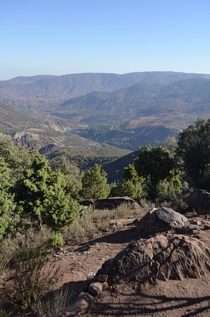 Marrakech-Tensift-El Haouz Region, Morocco: The Atlas Mountains