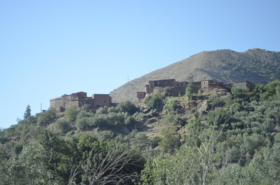 Marrakech-Tensift-El Haouz Region, Marokko: The Atlas Mountains