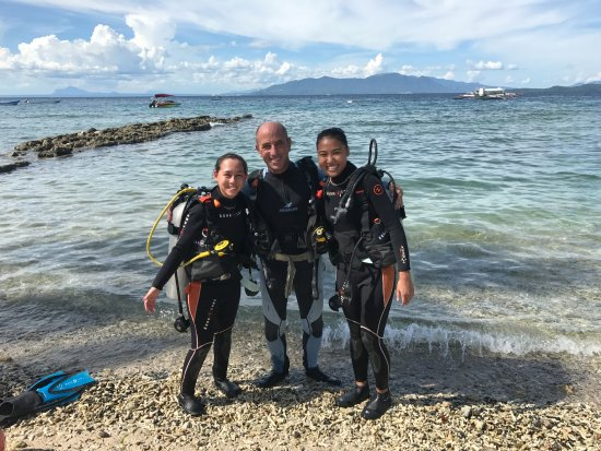 Action Divers: With our instructor Huw!