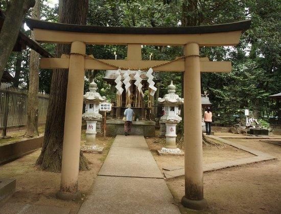 常総市, 茨城県, 稲荷社香取社: 末社の一つです