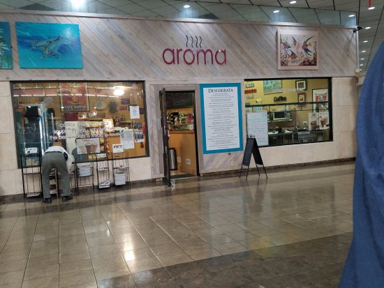 Aroma Cafe in the Wellington Commons Mall