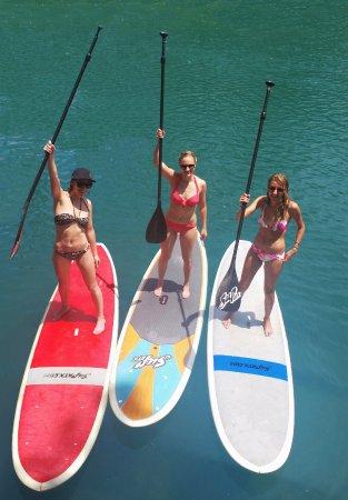 Noosa, Australia: 3 Paddlers