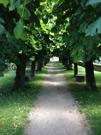 La Grange: Go for a stroll after lunch in Flavigny