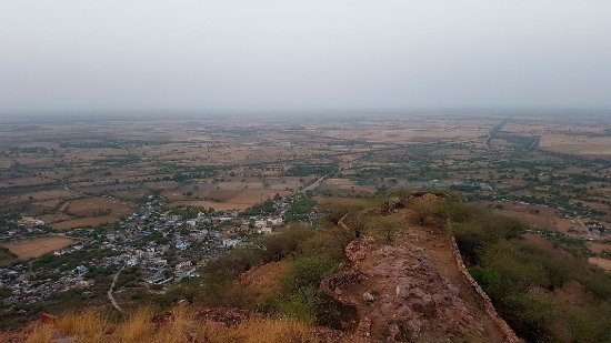 Malpura, India: Sunrise hike
