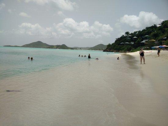 Jolly Harbour, Antigua: Beautiful Valley Church Beach 1