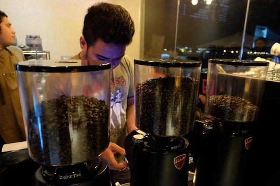 Cordova, Philippines : Coffee beans