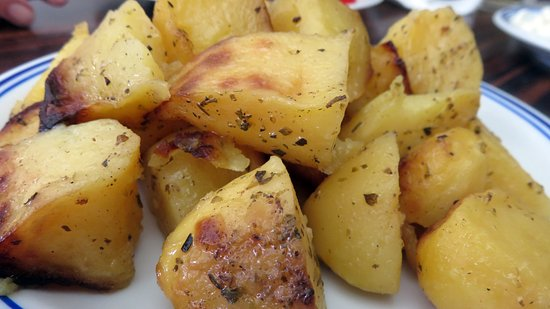 Houthalen, Bélgica: Gebakken aardappelen