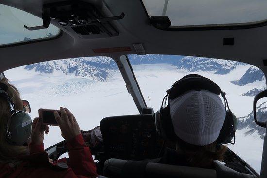 NorthStar Trekking: Sobrevolando el glaciar