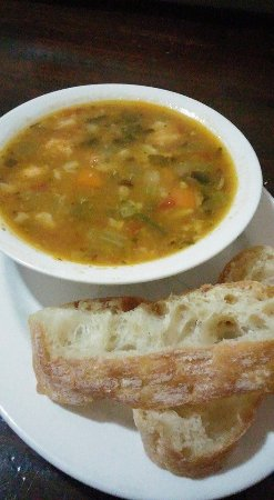 Bondi, Australia: Warm up with a minestrone