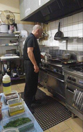Bondi, Australia: On the pans