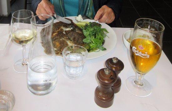 Henne, Danemark : Lækker aftensmad