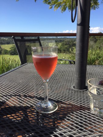 Mount Cotton, Australia: One of their wines - prices are from around $8 per glass