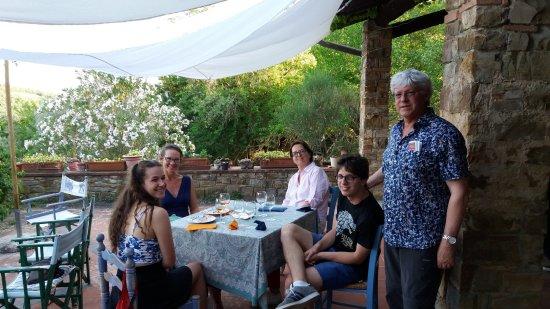 Barberino Val d'Elsa, Itália: aspettando la bistecca