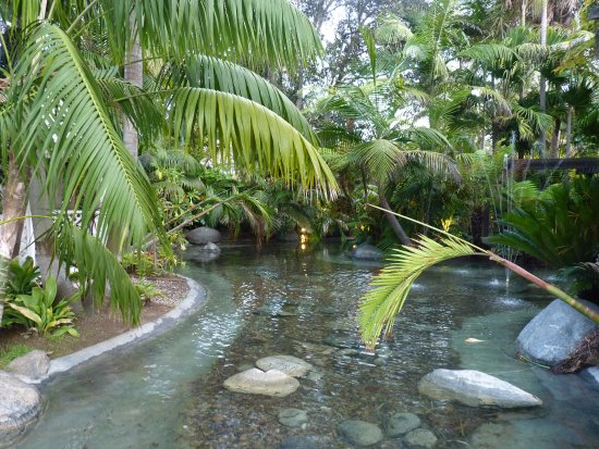 Bahia Resort Hotel: Hotel Garden And Pond