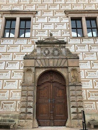 Litomysl, Τσεχική Δημοκρατία: 3mくらいの大きな扉