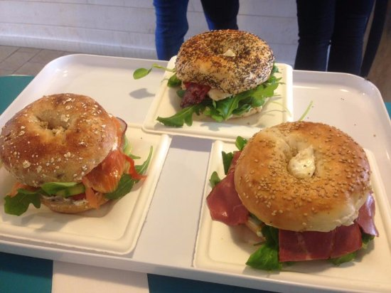 Salies-de-Bearn, Frankreich: If you love bagels, these French Bagels are super yummy!!