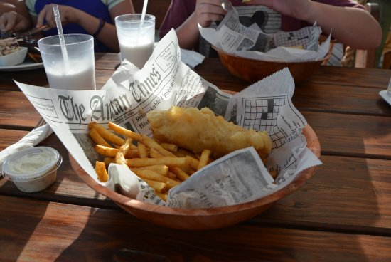 North Side, Grand Cayman: Fish & chips