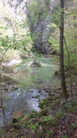 Entrée des Gorges de la Jogne près de Broc