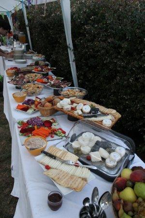 Puivert, Frankrijk: Buffet de Mariage