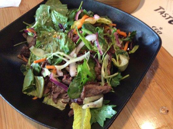 beef salad picture of coa asian food drinks stuttgart tripadvisor. Black Bedroom Furniture Sets. Home Design Ideas